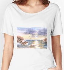 Rocky coast Relaxed Fit T-Shirt