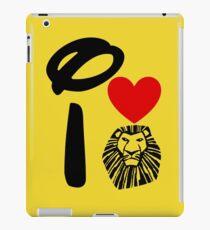 I Heart The Lion King iPad Case/Skin