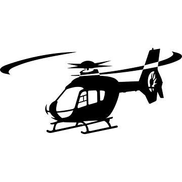 EC-135 Helicopter Design by jnmvinylstudio