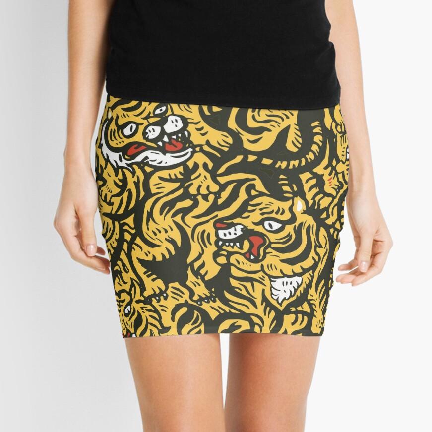 Tigers meeting Mini Skirt