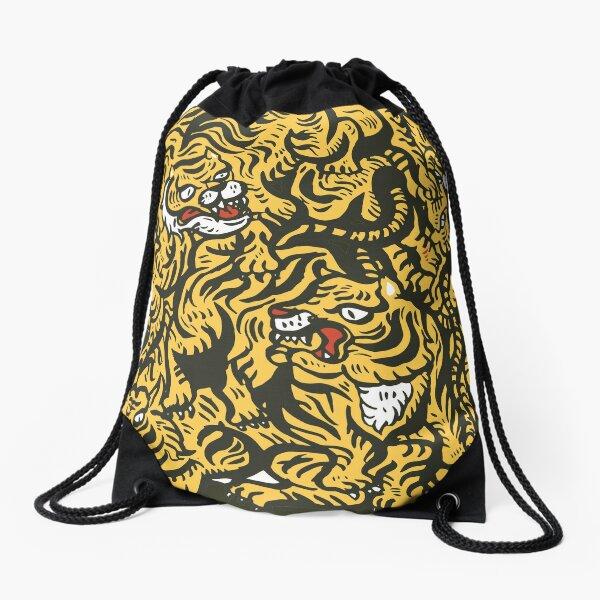 Tigers meeting Drawstring Bag