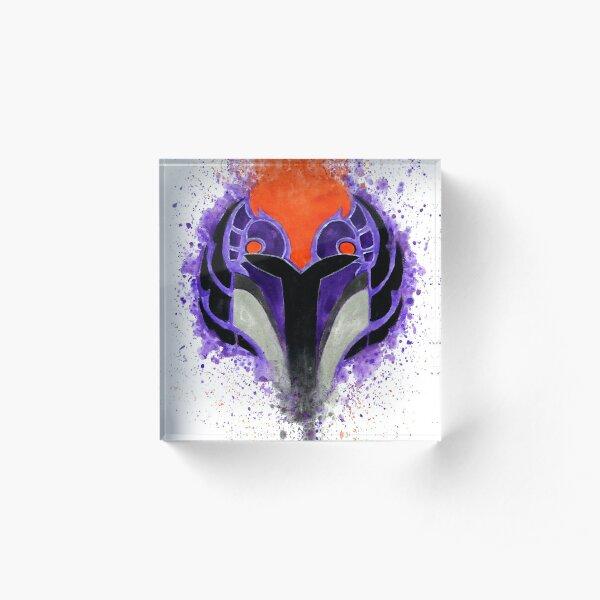 Wren Acrylic Block
