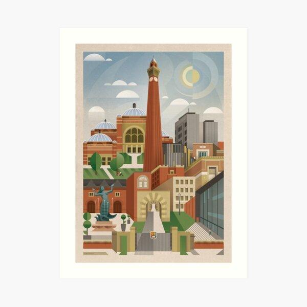 University Of Birmingham Art Print