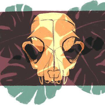 skull & leaves ALT by reedbuck