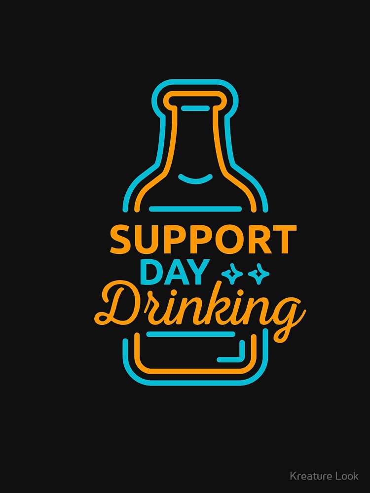 Support Day Drinking   drinking games shirt   beer lover gift   craft beer shirts   beer gifts men   beer gifts for dad   beer clothing   funny beer gift   beer pong by qtstore12