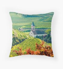 Kaiserstuhl, South-West Germany Throw Pillow