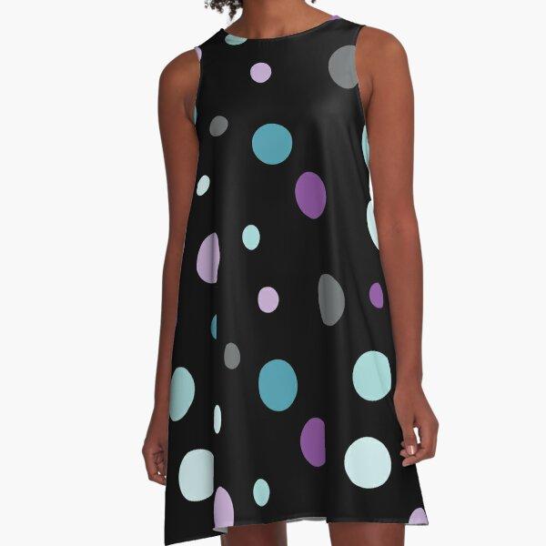 Linear Radge - Dots A-Line Dress