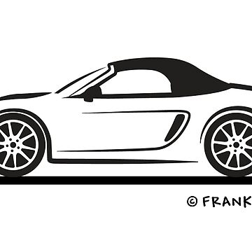 Porsche 981 Boxster Top Up Black by azoid