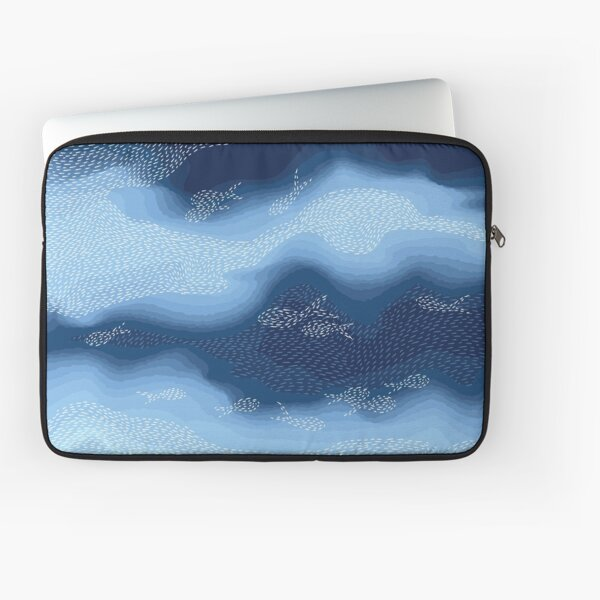Sea - Fish in the blue Laptop Sleeve