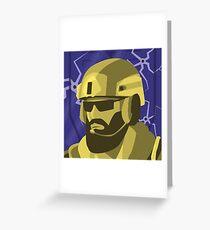 Blackbeard Greeting Card