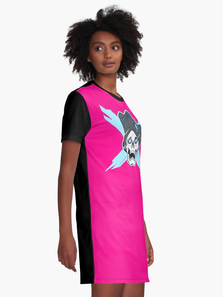 Alternate view of LESBIANS AT SEA Graphic T-Shirt Dress