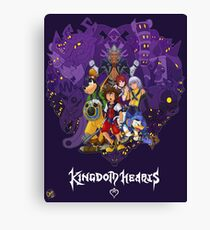 Kingdom Hearts Heart of Darkness Canvas Print