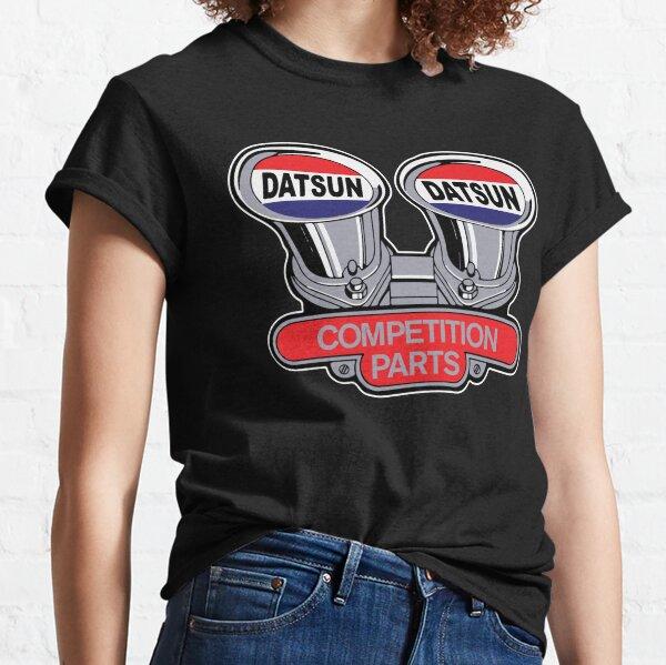 Datsun Competition Parts Vintage Tribute Logo Classic T-Shirt