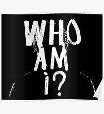 Póster ¿Quién soy?