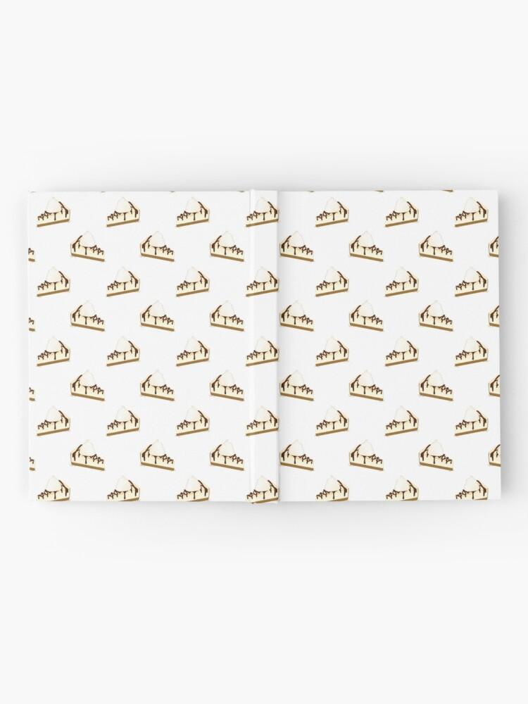 Alternative Ansicht von Schokoladen-Nieselregen-Käsekuchen Notizbuch
