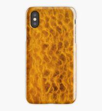 gold knit iPhone Case/Skin