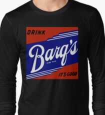 BARQ'S VINTAGE ADVERTISEMENT SIGN Long Sleeve T-Shirt