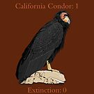California Condor vs. Extinction (support the Los Angeles Zoo) by BennuBirdy