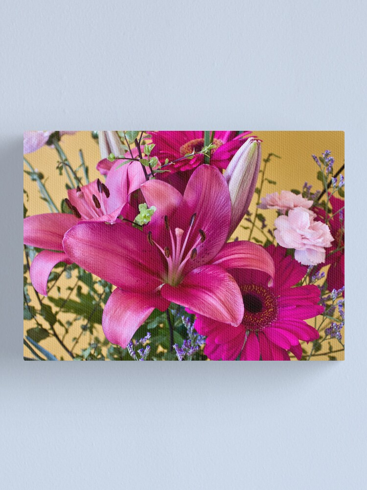 Alternate view of Flowers2 Canvas Print
