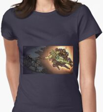 Creation of Recruit Women's Fitted T-Shirt