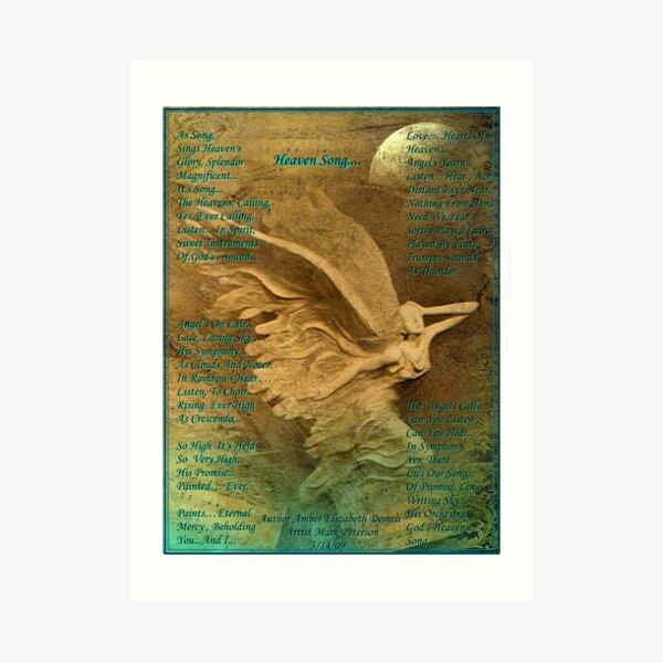 Heaven Song... Art Print