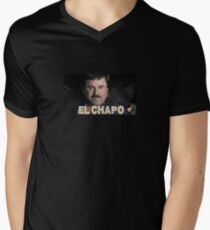 EL CHAPO  Men's V-Neck T-Shirt
