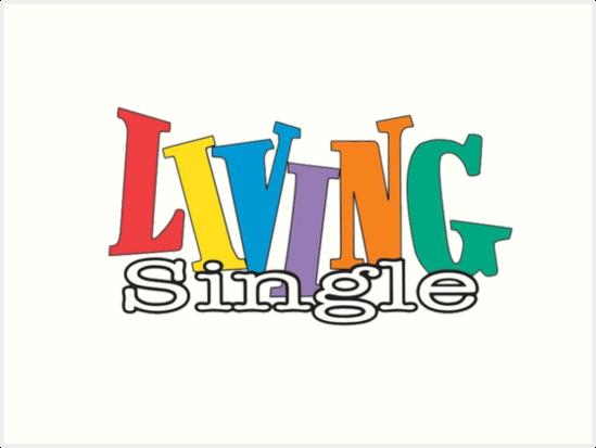 Living Single Logo Art Prints By Oldisneydesigns
