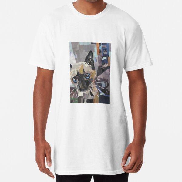 The Curious Kitten Long T-Shirt