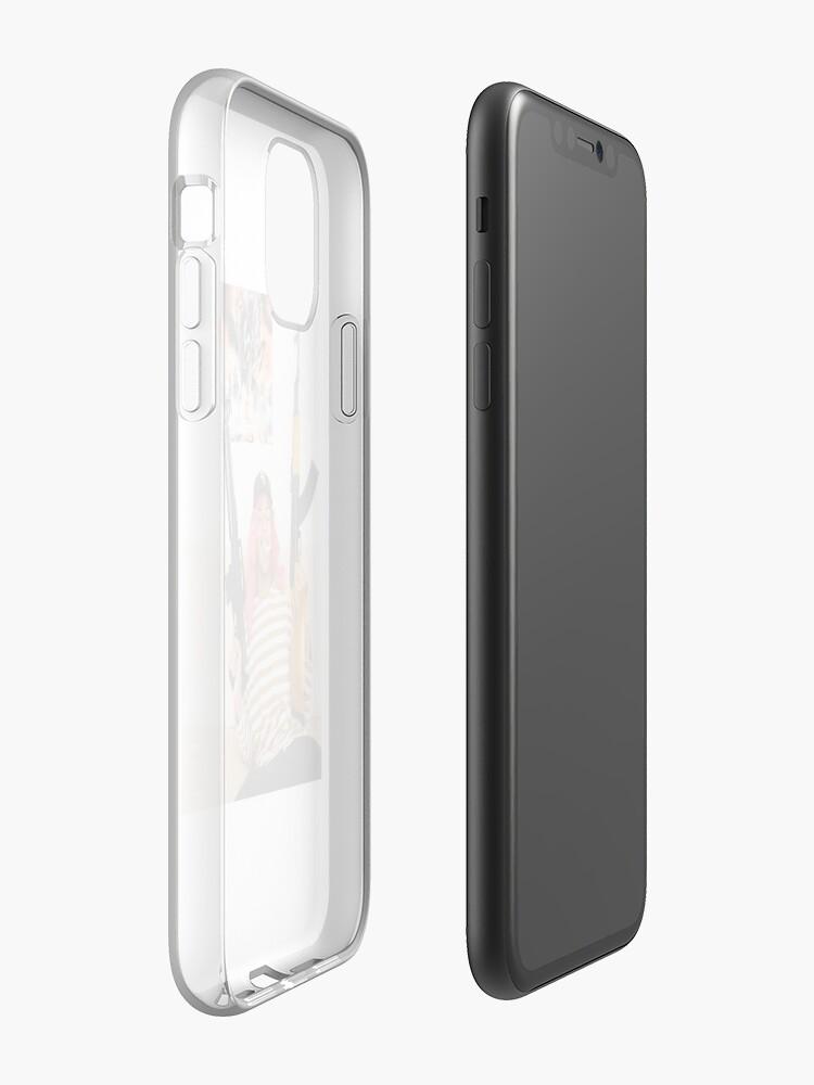 Coque iPhone «COMÉTHAZINE», par yungbleach