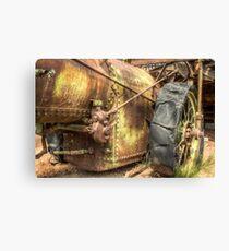 Rust Bucket Canvas Print
