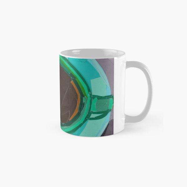 Green Coffee Cup from a Bird's Eye View Classic Mug