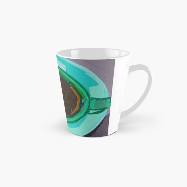 Green Coffee Cup from a Bird's Eye View Tall Mug