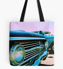 Parked Chrome Tote Bag