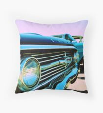 Parked Chrome Throw Pillow