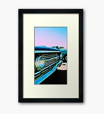 Parked Chrome Framed Print