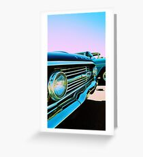 Parked Chrome Greeting Card