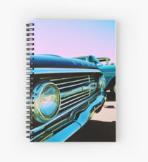 Parked Chrome Spiral Notebook