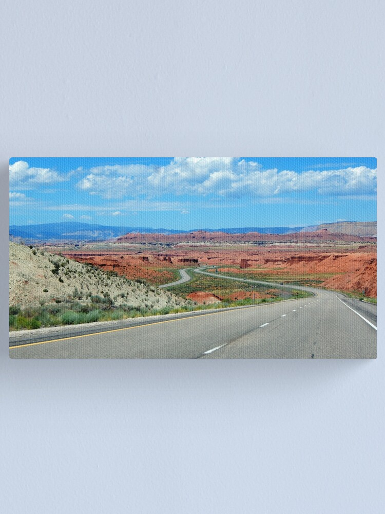 Alternate view of On The Winding Road Canvas Print