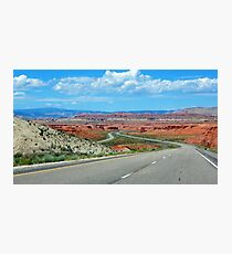 On The Winding Road Photographic Print