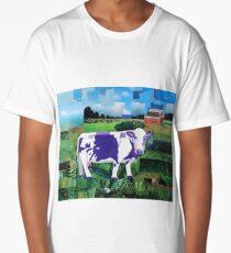 A Purple Cow's Paradise Long T-Shirt