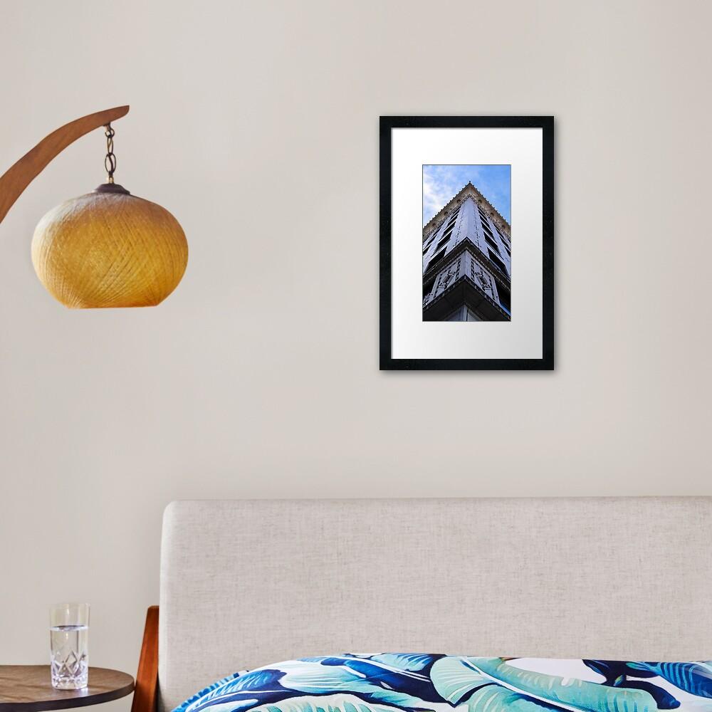 All Along The Edge Framed Art Print