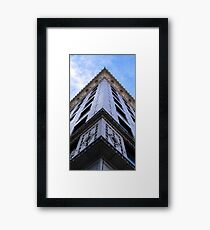 All Along The Edge Framed Print