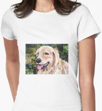 Golden Girl Women's Fitted T-Shirt