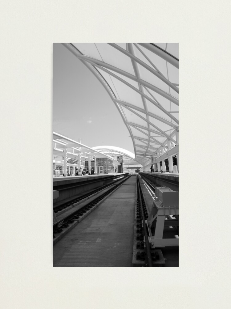 Alternate view of Follow The Lines Photographic Print
