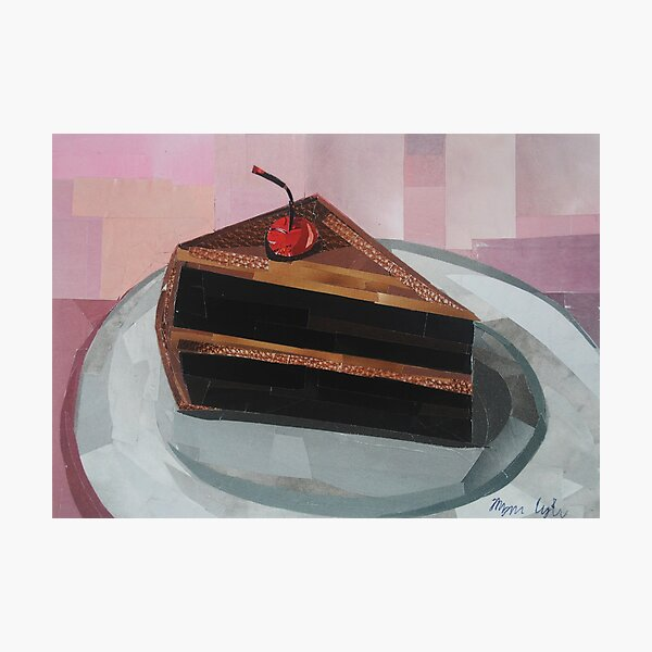 A Piece of Cake Photographic Print