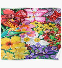 Flower pedals | Abstract Art Poster