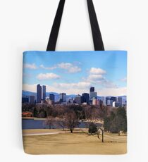 Downtown Denver in March Tote Bag