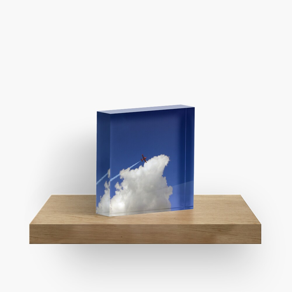 Into The Wild Blue Yonder Acrylic Block