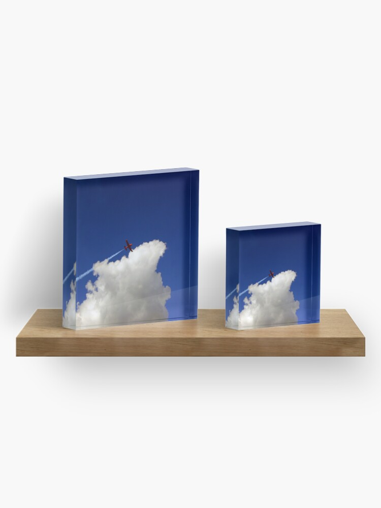 Alternate view of Into The Wild Blue Yonder Acrylic Block