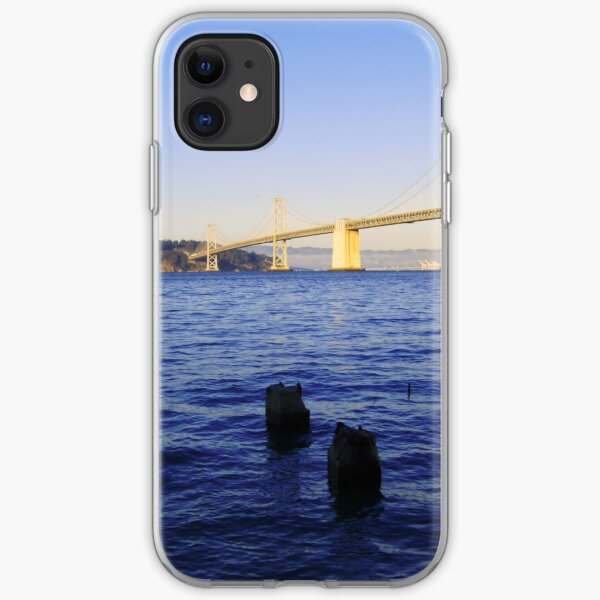 Bay Bridge in Late Afternoon iPhone Soft Case